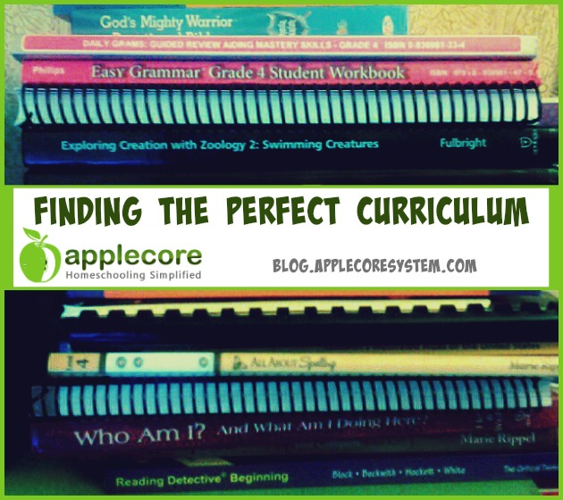 finding the perfect curriculumfinding the perfect curriculum