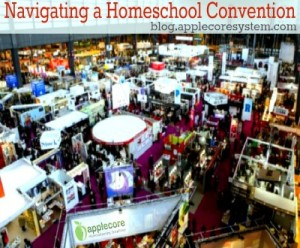 How to navigate a homeschool convention. #homeschooling #applecore #StefLayton
