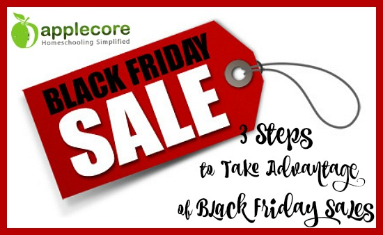 3 Steps to Take Advantage of Black Friday Sales