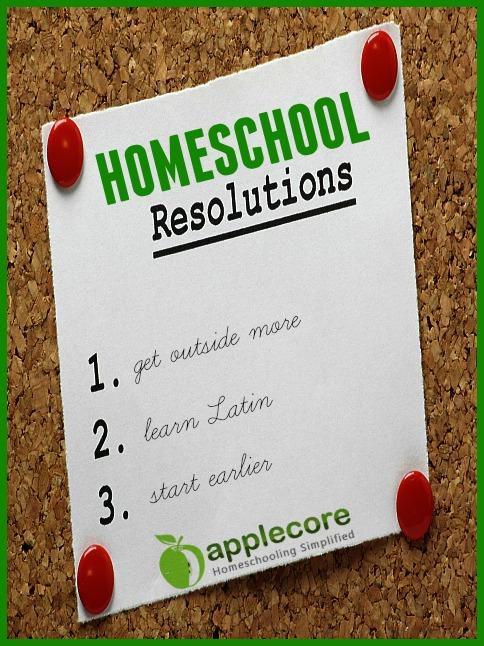 homeschool resolutions