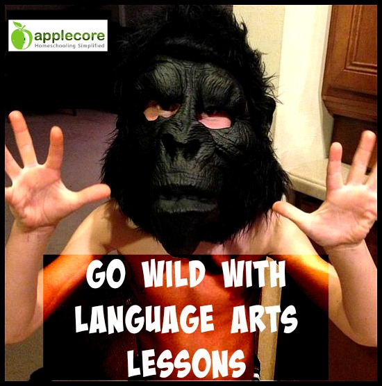 go wild with language arts lessons