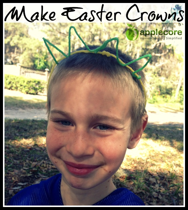 make easter crowns