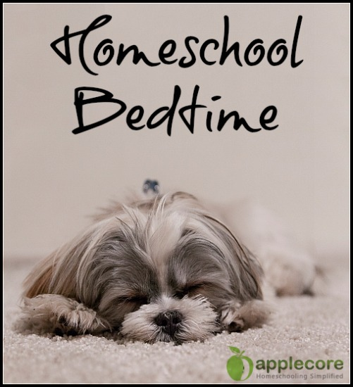 homeschool bedtime