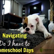 "Navigating ""Do I have to?"" Homeschool Days"